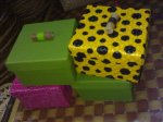 Kotak Hadiah Vynil kerajinan rajapolah